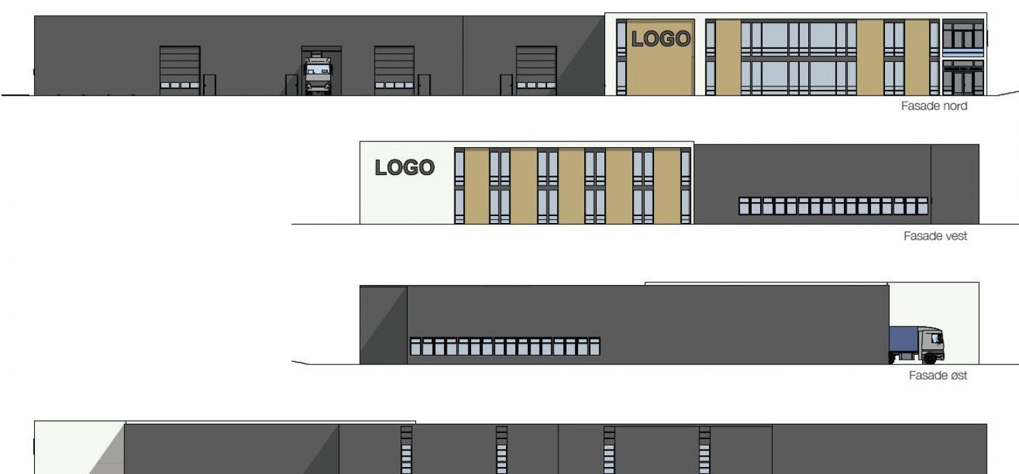 Fasadeendring Søndre Kullrød 8 Brække Eiendom Prosjekt