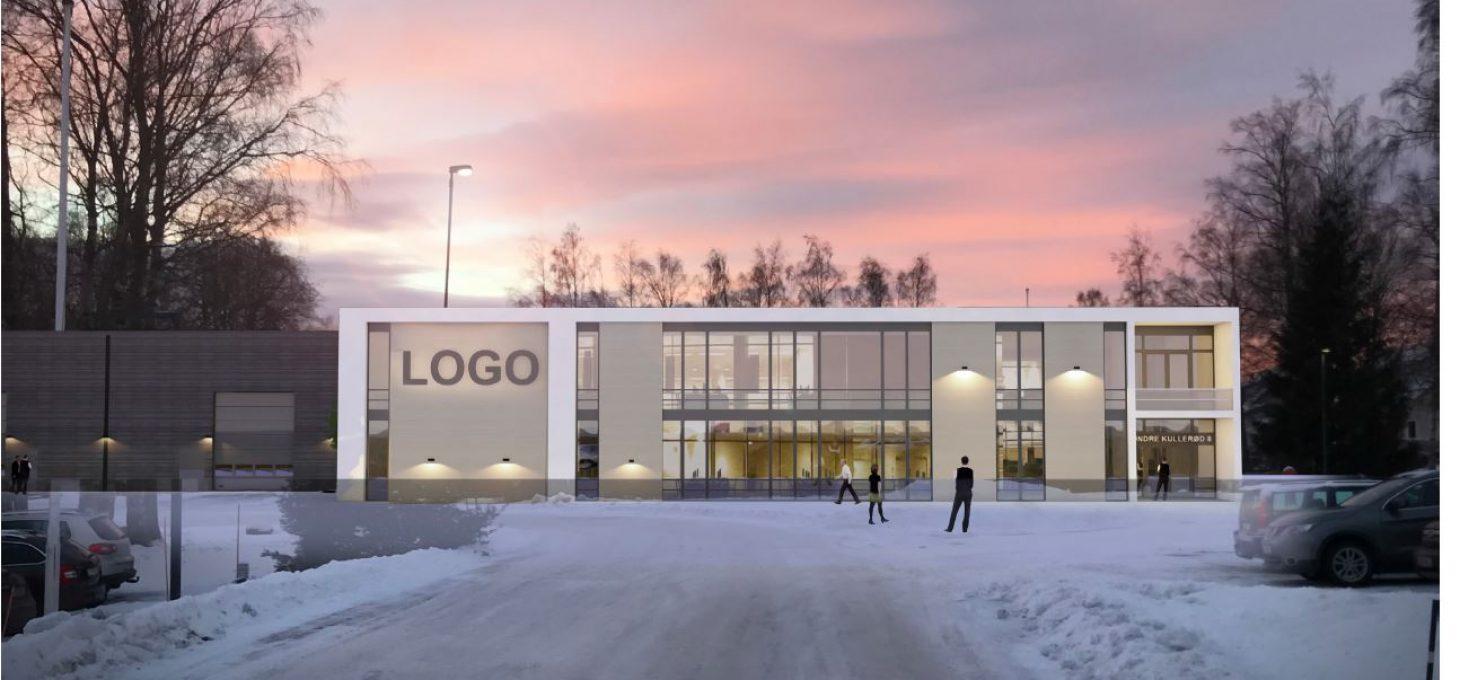 Søndra Kullerød 8 utvendig fasade illustrasjon Brække Eiendom
