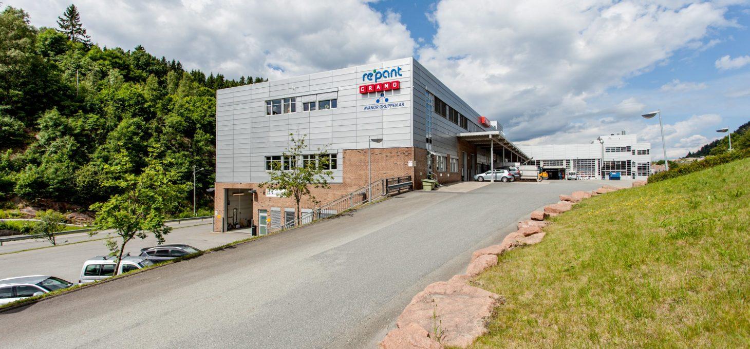 Kobbervikdalen 75, fasade, næringseiendom, Brække Eiendom