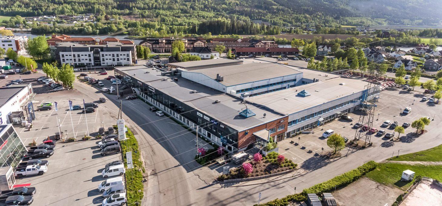 Ingvald Rybergs gate 21, drone, næringseiendom, Brække Eiendom