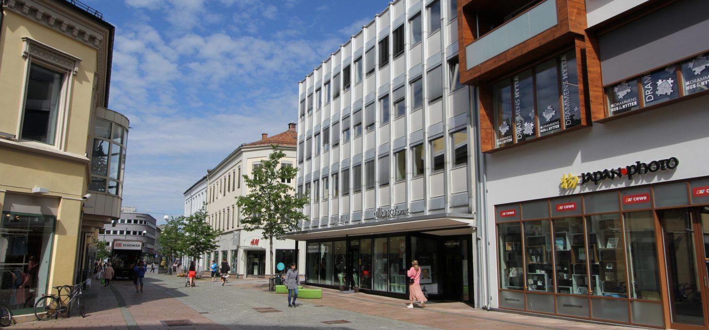 Nedre Storgate 3, Werringgården, næringseiendom, Brække Eiendom