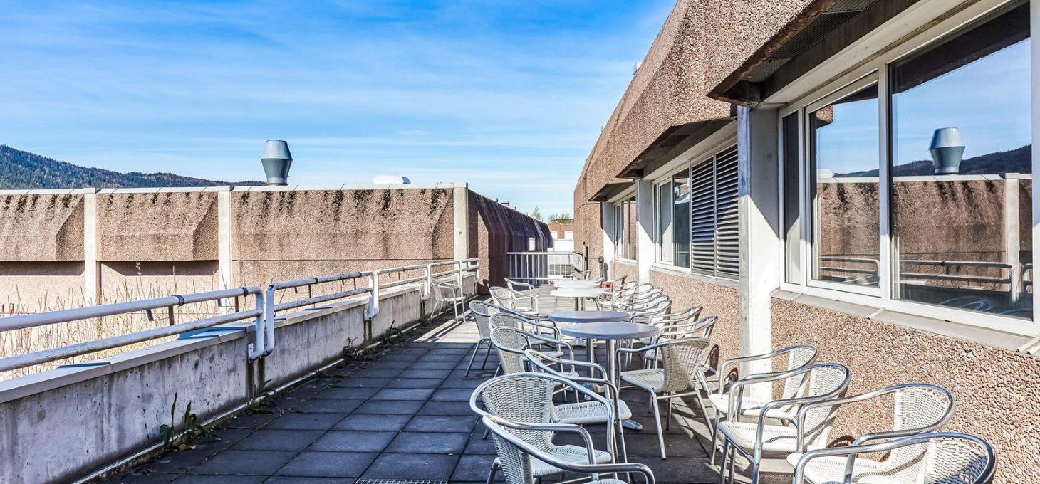 Ingeniør rybergsgate 99, terrasse, næringseiendom, Brække Eiendom
