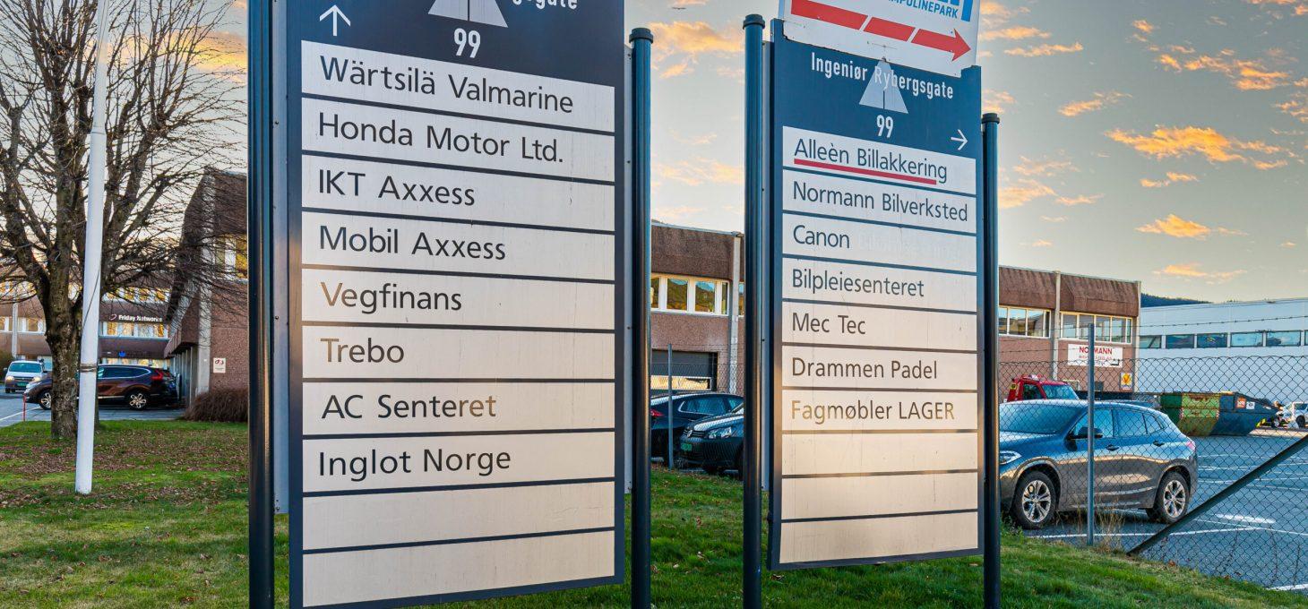 Ingeniør Rybergsgate 99, næringseiendom, Brække Eiendom AS