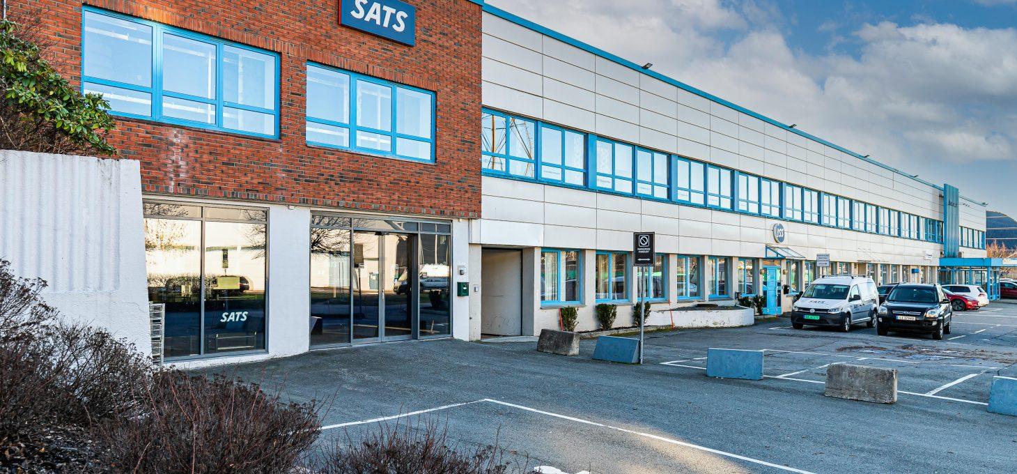Åssiden Næringssenter, Ingvald Ludvigsens Gate 21, næringseiendom, Brække Eiendom AS